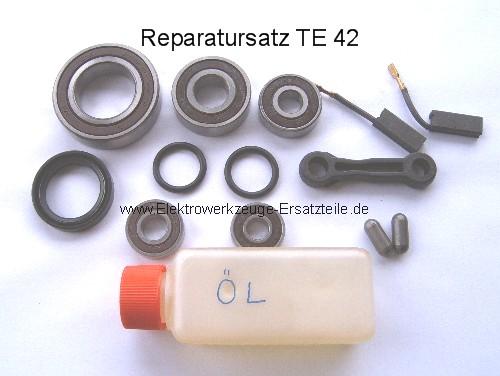 Hilti TE 42 Reparatursatz Kugellager Kohlen