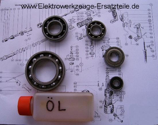 Kugellager vom Anker Rotor für Hilti TE 60 72 !!!!